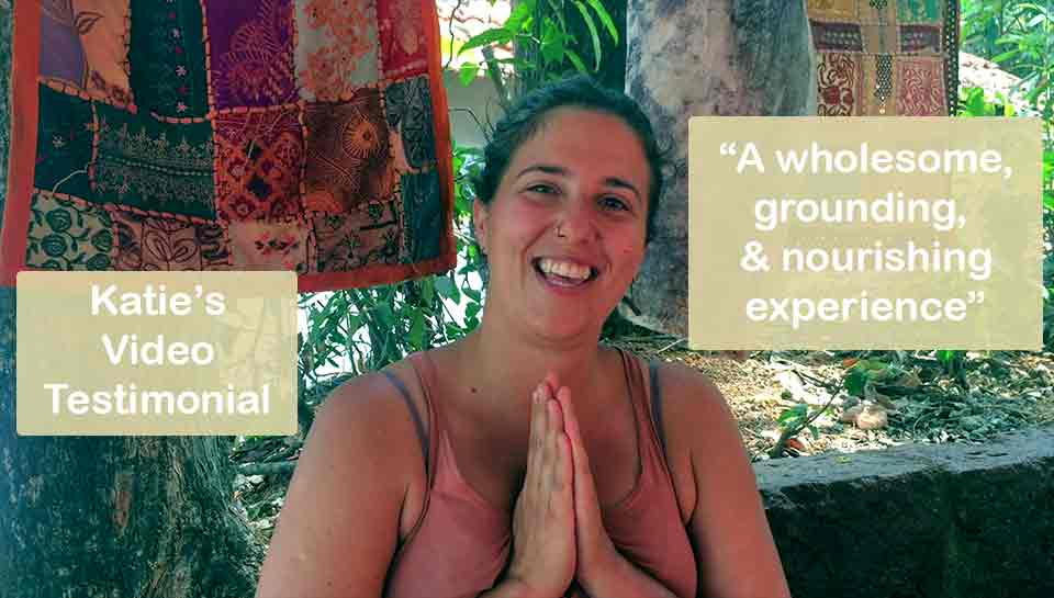Shanti Yoga School Teacher Trainings Video Testimonials Katie