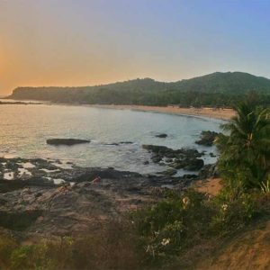 Shanti Yoga Teacher Training - Om Beach India Pano