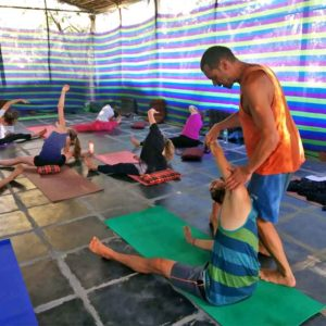 Shanti Yoga School - Om Beach - India - 100 hour yoga teacher training