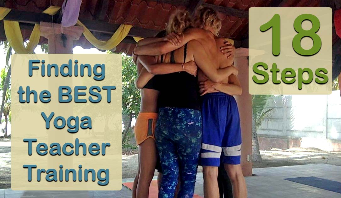 Shanti Yoga - Finding the Best Yoga Teacher Training - 18 Steps