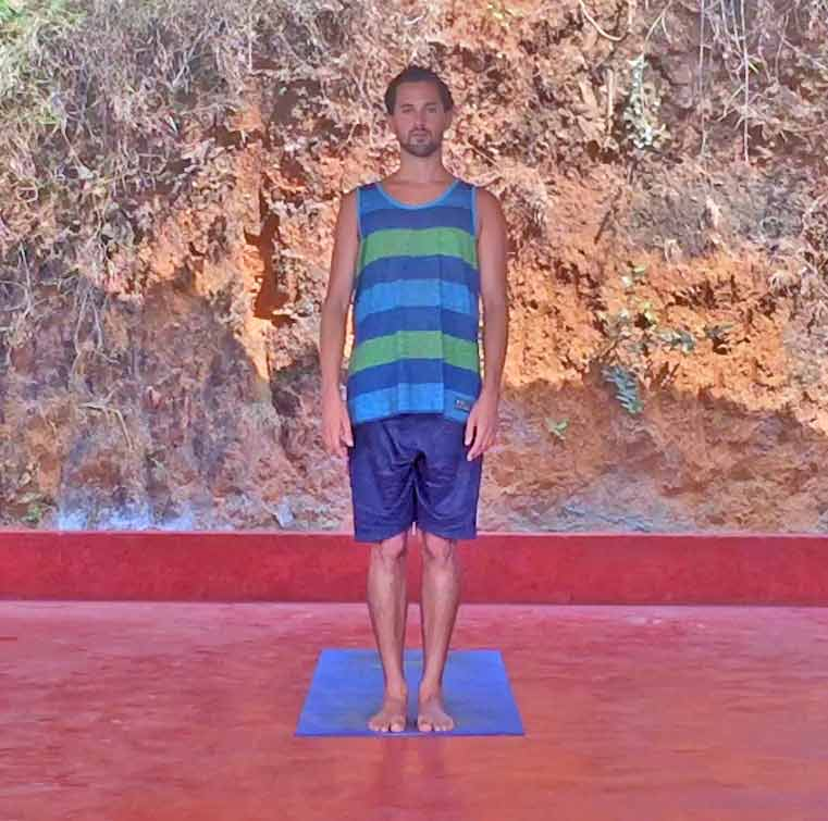 Shanti Yoga Teacher Training - Yoga Poses for Beginners - Mountain
